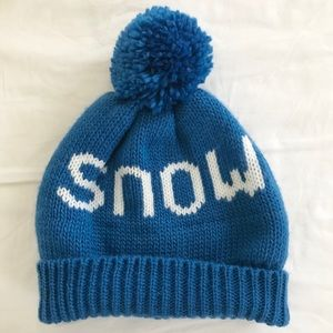Snow Beanie with Pom